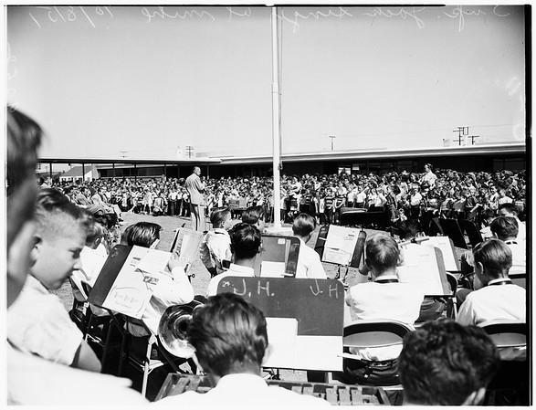Culver City Schools dedication, 1951