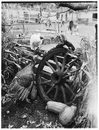 Third annual harvest festival, 1951