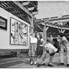 All City art festival...Highland Park Playground, 1951