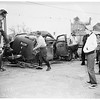 Accident ...Auto versus train ...north of Temple City, 1951