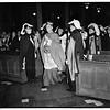 Columbus Day at Saint Vibiana's Cathedral, 1951