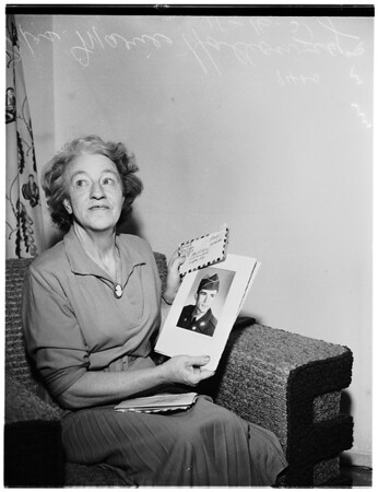Mrs. Marie Holloway, 1951