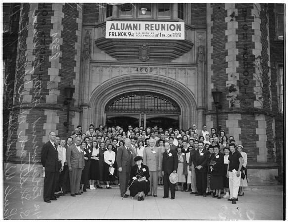 Los Angeles High School alumni reunion, 1951