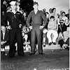 Armistice Day Parade...  Long Beach... Air Forces... Sailors from Los Alamitos Navy Air Station, Long Beach City College Band, 1951