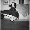 Spanish dancer... leader of Spanish Ballet to be seen in Philharmonic Auditorium, 1951