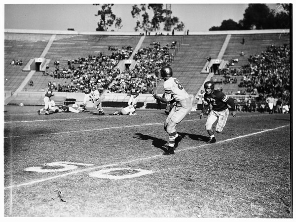 Loyola Marymount University versus University of San Francisco football, 1951