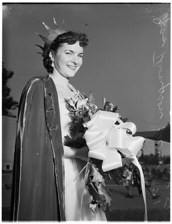 """Los Angeles State College ...""""Queen"""", 1951"""