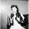 Poodle pups, 1952