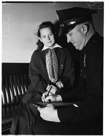 Attack, robbery, and baby molesting, 1951