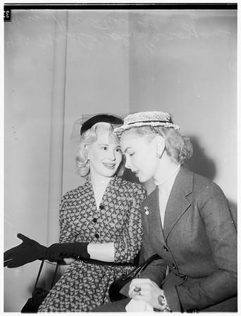 Saroyan divorce, 1952