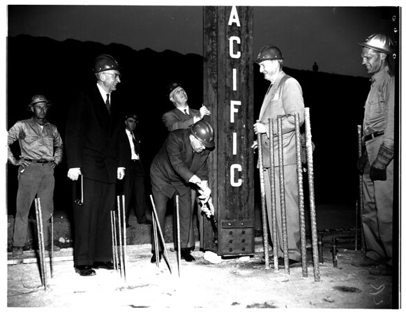 University of California, Los Angeles Medical School construction, 1951