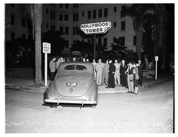 Youth Shot Dead in Police Chase, 1951