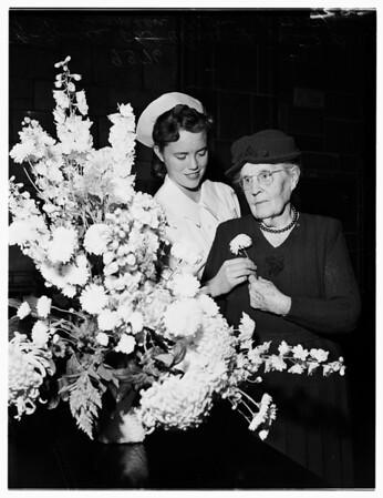 National Flower Week, 1951