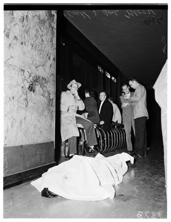 Rosslyn Hotel bar death, 1951