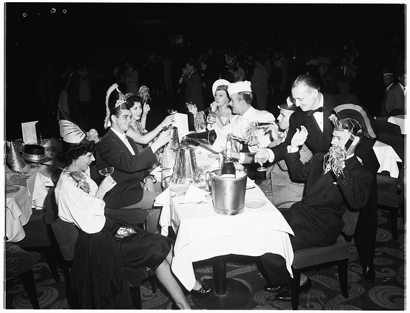 New Year's eve, 1951