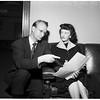 Mayo alimony story, 1952