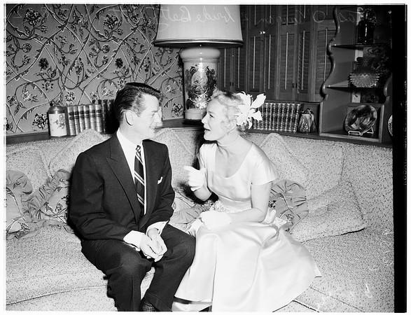 Hutton wedding,  1952