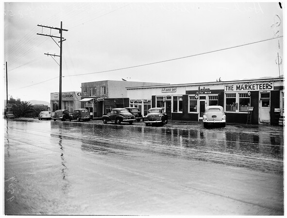 Hail and snow pictures, 1952
