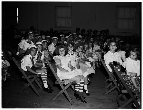 Christmas Play at Mary Star of the Sea School, Jugoslav Auditorium, 1951