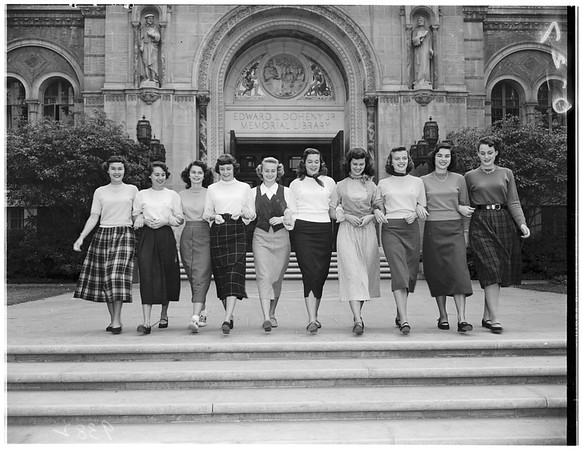 University of Southern California ...Helen of Troy Finalists, 1951