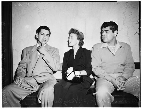 Police brutality, 1952
