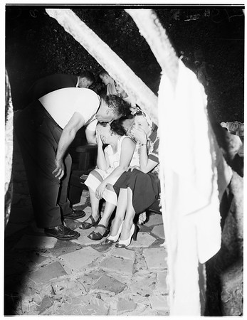 Boy drowned (Eagle Rock), 1952.