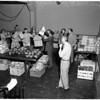 Christmas basket drive in Culver City, 1951