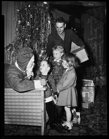 Marine Corps League Christmas Party, 1951