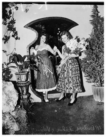 Flower Show (Brookside Park, Pasadena), 1952