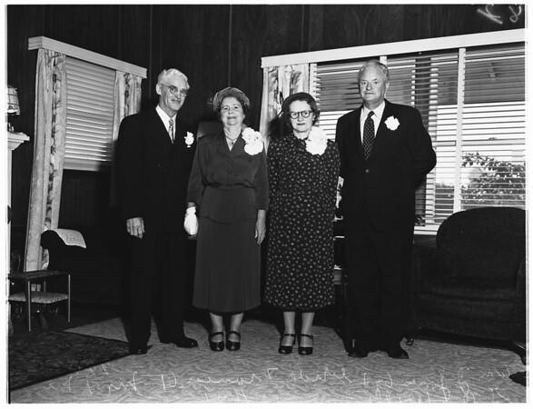 Jones marries Jones, 1951