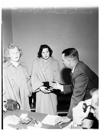 Runaway girls, 1952