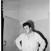Burglar suspect --Wilshire Police Station, 1951
