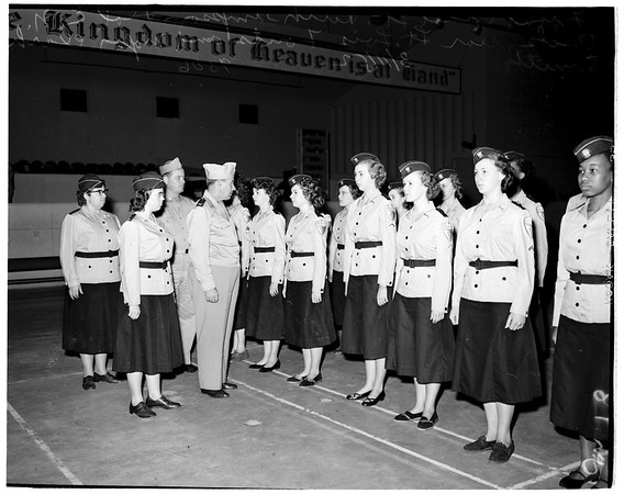 Seventh Day Adventists Medical Cadet Corps ...Inspection, 1952