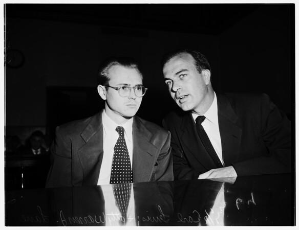 Murder trial,1952