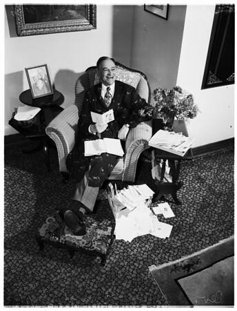 Reverend Brougher, 1952