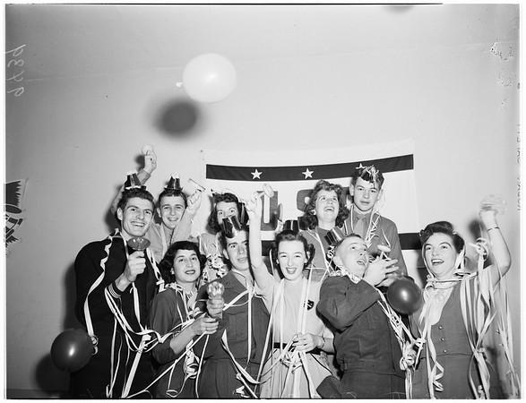 New Year's Eve Pictures, 1951
