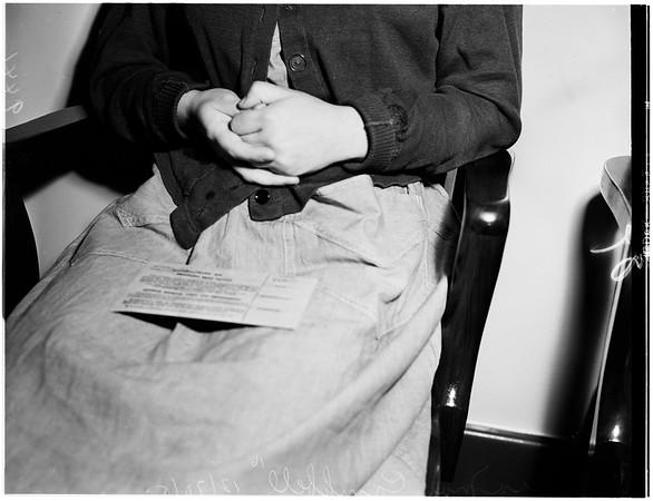 Strangling case, 1951