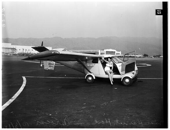 Aerocar Flies at Lockheed, 1951
