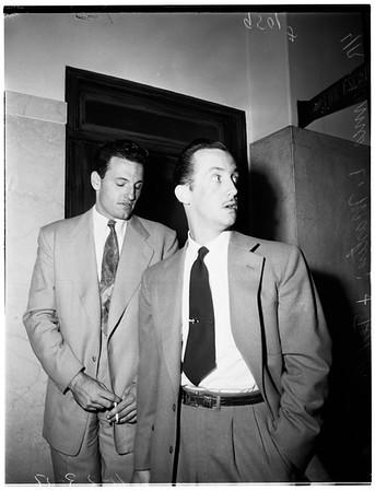 Felony assault charge, 1952