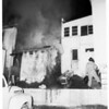 Fire at 11337 Ventura Boulevard, 1951