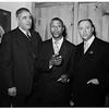 Negro bombing mass meeting, 1952