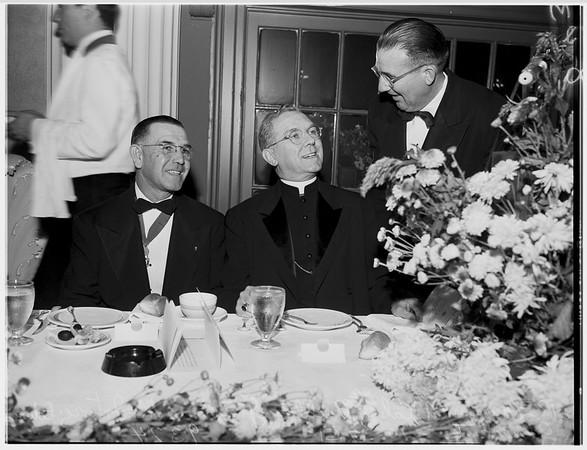 Knights of Columbus Banquet, 1951