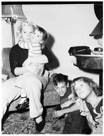 Child stealing and assault ...Tommy Trento (not in picture), accused, 1952