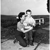 Boy trapped in mud, 1952