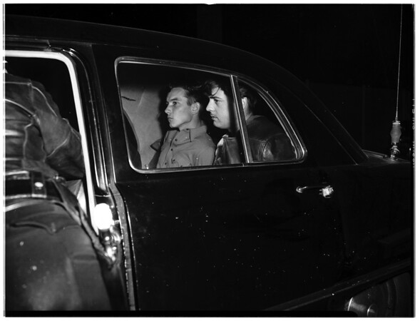 Police Chase Trio, 1951