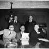 Members of Civil Defense Board, 1952