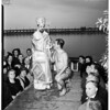 Greek Orthodox Church rites in Long Beach, 1952