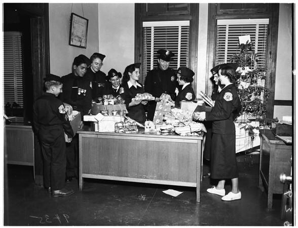 Christmas ...DAP (Do All Possible) Gather Christmas Presents ...Children, 1951