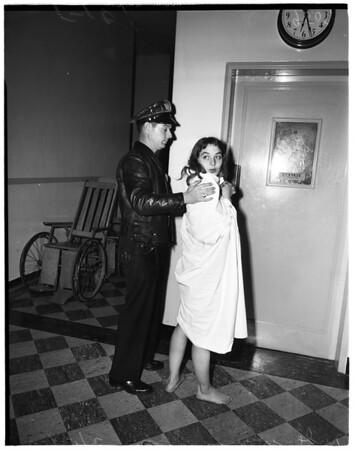 Nude woman, 1952