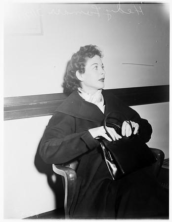 Lamarr divorce, 1952